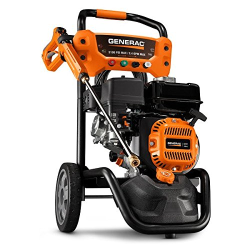 Learn More About Generac 7019 OneWash 3,100 PSI, 2.4 GPM, Gas Powered Pressure Washer and PowerDial ...