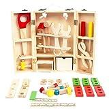 収納できる 木製ツールボックス トントン 大工さんセット 【知育玩具】 ランキングお取り寄せ