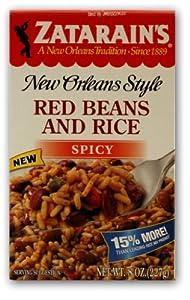 Zatarain's Spicy Red Beans and Rice Mix