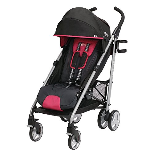 2014 Graco Breaze Click Connect Stroller, Azalea - 1