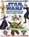 Star Wars: The Clone Wars: Ultimate Sticker Collection   [STICKER BK-SW THE CLONE WARS] [Paperback]