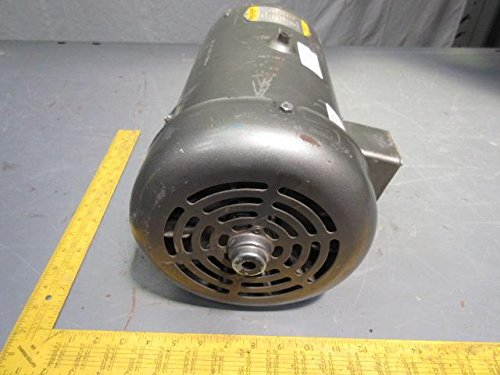 Baldor cd6202 184c frame tefc dc motor 2 hp 1750 rpm for Baldor permanent magnet motors