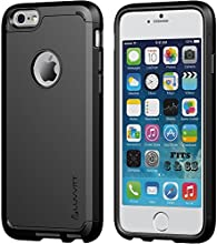 iPhone 6/6s Case, LUVVITT ULTRA ARMOR Case [LIFETIME WARRANTY] Double Layer Shock Absorbing - Black