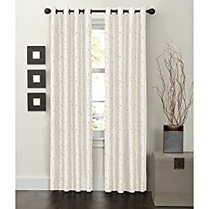 Buy maytex mills jardin embroidered thermal window curtain for Thermal windows prices