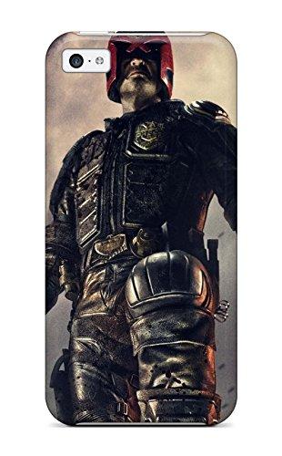 New Premium SaundraVillard Dredd 2012 Judge Guns Future Karl Urban People Movie Skin Case Cover Excellent Fitted For Iphone 5c