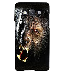 Printdhaba Beast D-5018 Back Case Cover For Samsung Galaxy E5