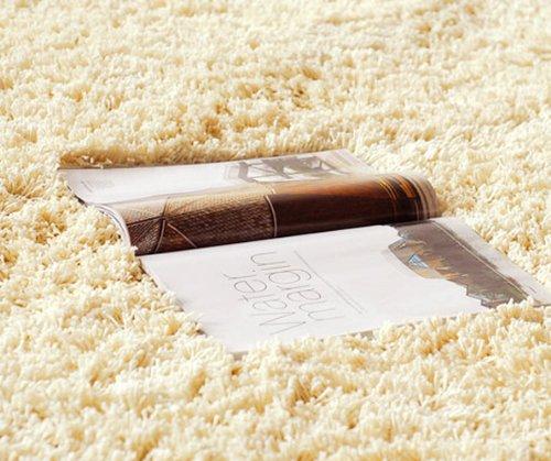 Top Grade Microfiber Strong Absorbent /Antibacterial /Anti-slip 20-Inch by 31-Inch bathroom rug (YR204-7/Beige)