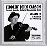 echange, troc Fiddlin John Carson - Complete Recorded Works IV 1926-1927