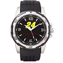 NASCAR Jeff Gordon Mens Stealth Sport Watch by Logo Art