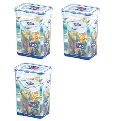 3 x Lock Lock-Boîte de conservation pour pâtes & HPL809-1,3 l
