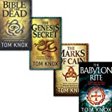 Tom Knox Tom Knox Collection 4 Books Set, (The Babylon Rite, The Genesis Secret, Bible of the Dead and The Marks of Cain)