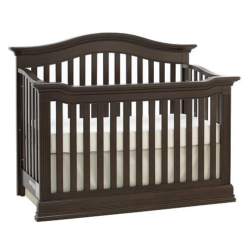 Baby Cache Montana Lifetime Convertible Crib Espresso