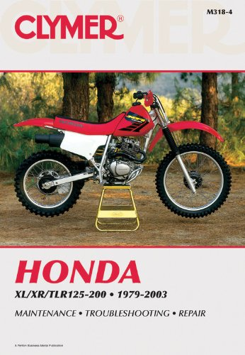 Honda XL/XR/TLR125-200 1979-2003 (Honda Insight Repair Manual compare prices)