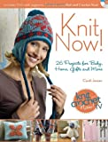 Knit Now!: Knitting Patterns from Season 3 of Knit and Crochet Now (1440213879) by Jensen, Candi
