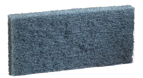 "3M Doodlebug Scrub Pad 8242 Blue, 4.625"" X 10"" (Case Of 20) front-60284"