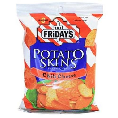 Poore Brothers Tgif Potato Skins Chili Cheese Flavor, 3-Ounces (Pack of 6) (Mint Chocolate Chip Gum compare prices)