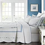 Martha Stewart Collection Park Stroll King Bedspread