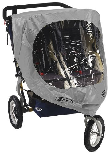 Bob Weather Shield for Duallie Revolution/Stroller Strides Models, Gray