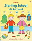 Felicity Brooks Starting School Sticker Book (Usborne Sticker Books)