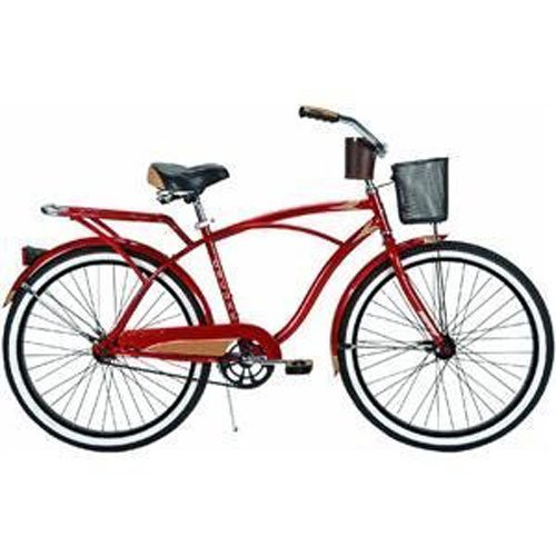 Why Choose The Huffy Men's Cardinal Deluxe Bike (Red Metallic, Large/26-Inch)