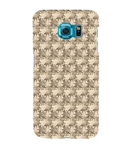 iFasho Modern Art Design animated cloth Pattern of star Back Case Cover for Samsung Galaxy S6