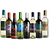 Halloween Glow in the Dark Wine Bottle Label Stickers (8 Labels)