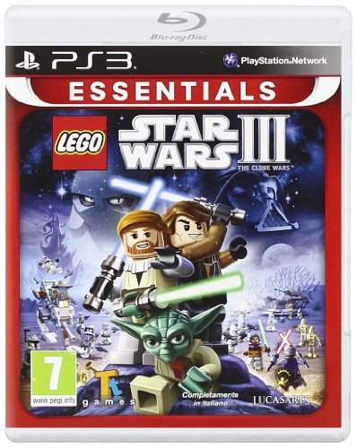 LEGO Star Wars 3: The Clone Wars Essentials (Sony PS3) (Ps3 Clone Console compare prices)