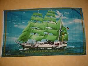 Fahnen Flaggen ALEXANDER HUMBOLDT 150 x 90 cm Fahne Flagge