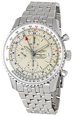 Breitling Men's A2432212/G571 Navitimer World Chronograph Watch