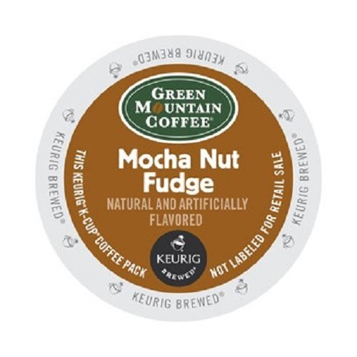 Green Mountain Coffee Mocha Nut Fudge, K-Cup Portion Pack for Keurig Brewers 24-Count (Kuerig Light Roast Coffee compare prices)