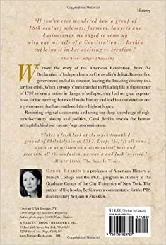 a brilliant solution inventing the american Award and was nominated for the pulitzer prize a brilliant solution: inventing  the american constitution revolutionary mothers: women in the struggle.