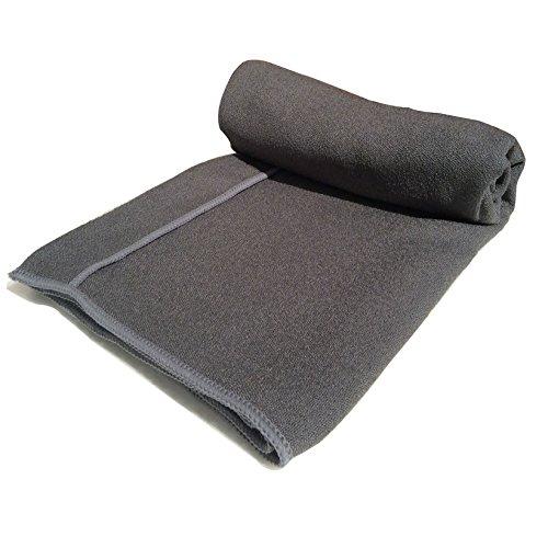 The Combo Yoga Mat Luxurious Non Slip Mat Towel: Non Slip Yoga Mat Towel With Hand