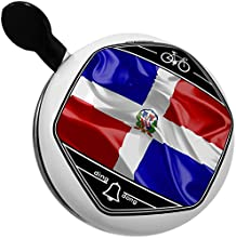 Bicycle Bell Dominican Republic 3D Flag by NEONBLOND