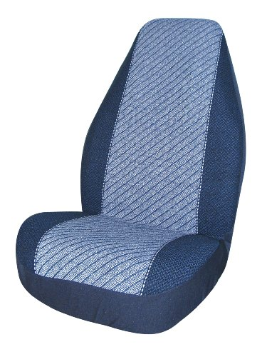 Allison 67-0526BLU Blue Super Tweed Universal Bucket Seat Cover - Pack of 2 (Seat Cover Allison compare prices)