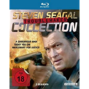 Steven Seagal Troublemaker Collection [Blu-ray] [Import allemand]