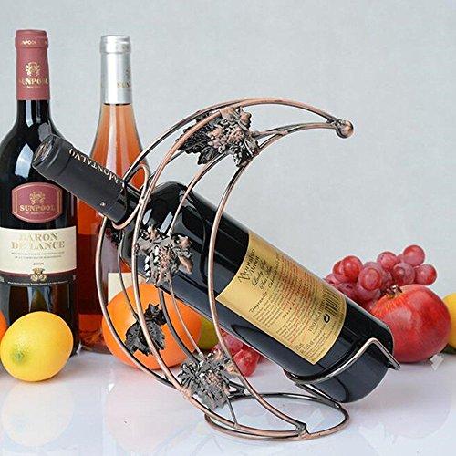 Creative Bouteille de vin étagère à vin New Style Support Support pour vin rouge