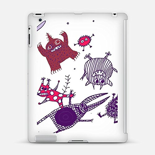 Casetify Levitating Monsters iPad 2 Case (White) deal 2016