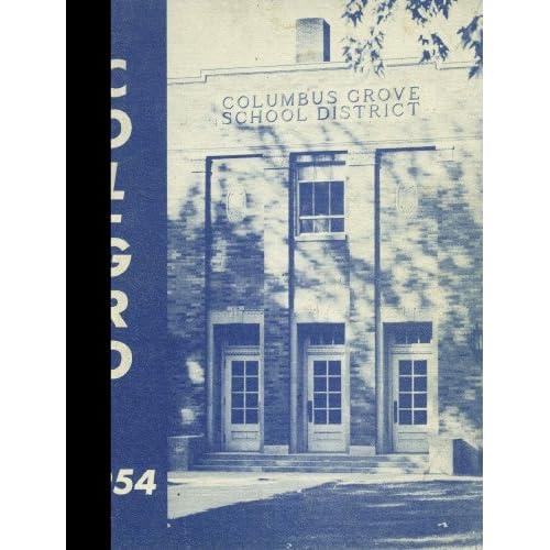 (Reprint) 1954 Yearbook: Columbus Grove High School, Columbus Grove, Ohio Columbus Grove High School 1954 Yearbook Staff