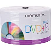 DVD R 4.7GB Single-Sided 16x Recordable Discs Spindle Pack Of 50 And Free 6 Feet Netcna HDMI Cable - By NETCNA