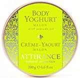 Attirance Body Yogurt Melon 6.6oz All Natural With Melon Seed Oil & Avocado Oil