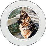 Tax Disc Holder ft The German Shepherd Dog design No. 4