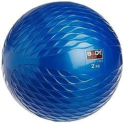 Body Sculpture Medicine Ball/Toning Ball, 2kg (Blue)