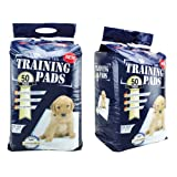 "Precious Tails Super Absorbent Pet / Puppy Wee-wee Training / Housebreaking Potty Pads (50 Pads 22"" X 22"") ~ Precious Tails"