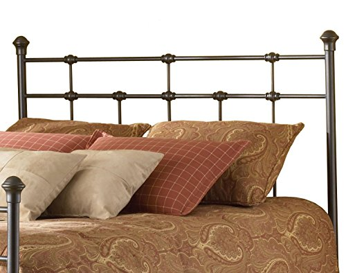 Home Life Dexter Hammered Brown Iron Headboard - FULL (Headboard Full Metal compare prices)