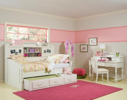 Cheap Legacy Classic Kids Olivia Twin Day Bed wTrundle Bedroom Set (B007JG33DY)