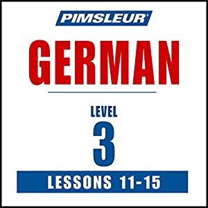 German Level 3 Lessons 11-15 Speech