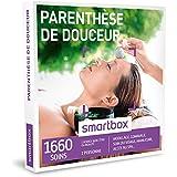 SMARTBOX - Coffret Cadeau - PARENTHÈSE DE DOUCEUR - 1660 soins : MODELAGE, GOMMAGE, SOIN DU VISAGE, MANUCURE, ACCÈS AU SPA...