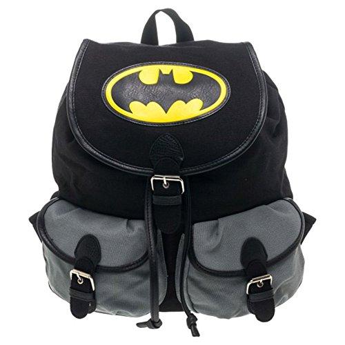 Batman Officiel Noir école Sac à dos à dos