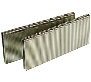 Senco L17BAB 18 Gauge by 1/4-inch Crown by 1-1/2-inch Length Electro Galvanized Staples (5,000 per box)