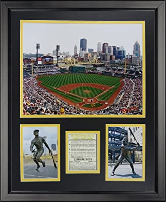 "Legends Never Die Pittsburgh Pirates - PNC Park Framed Photo Collage, 16"" x 20"""
